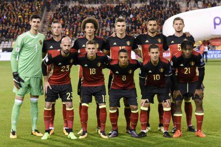Bélgica Mundial de Rusia 2018