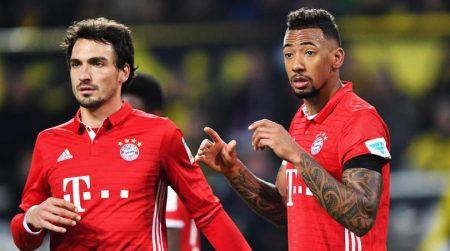 Boateng y Hummels Bayern