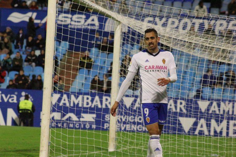 Borja Iglesias Real Zaragoza.