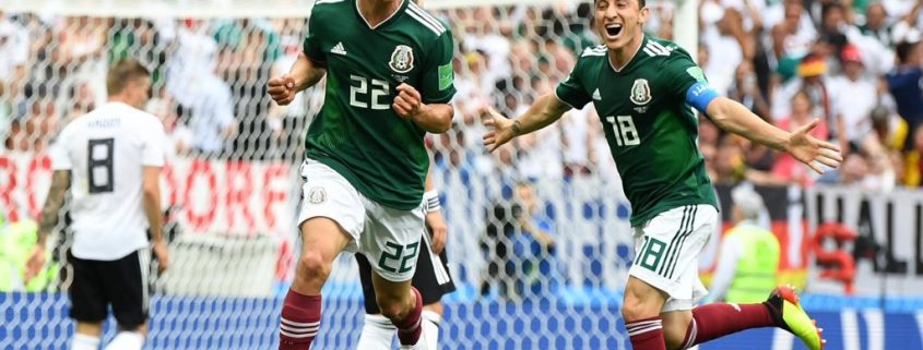 Lozano debuta con gol en su rpimer Mundial