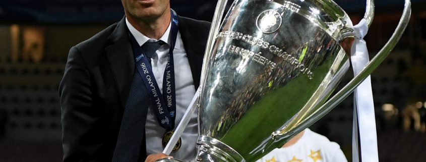 Zidane 3 Champions seguidas como entrenador