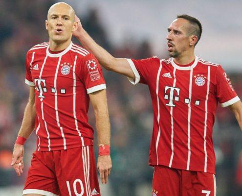 Robben y Ribery Bayern