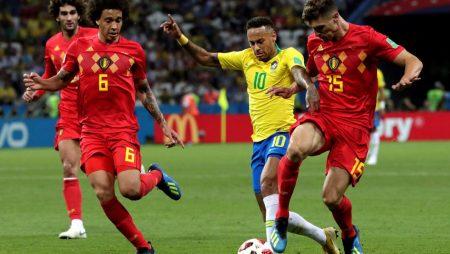 Análisis táctico Bélgica Brasil Neymar