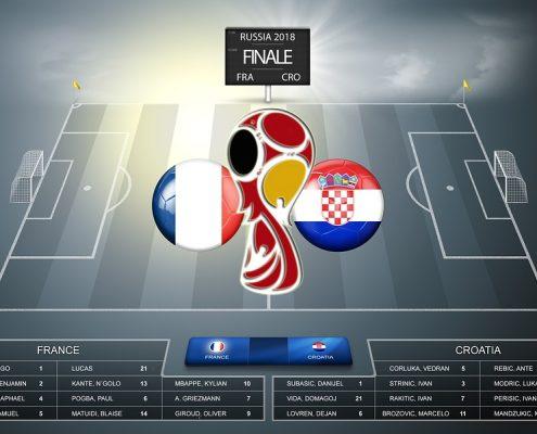 Croacia-Francia Mundial de Rusia