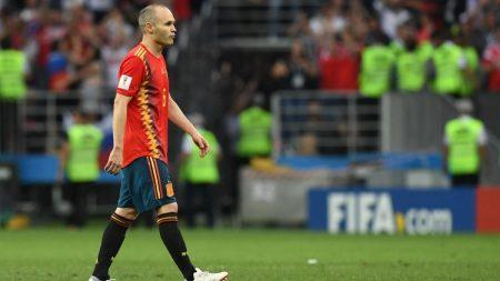 Uno x uno de España Mundial Rusia Iniesta