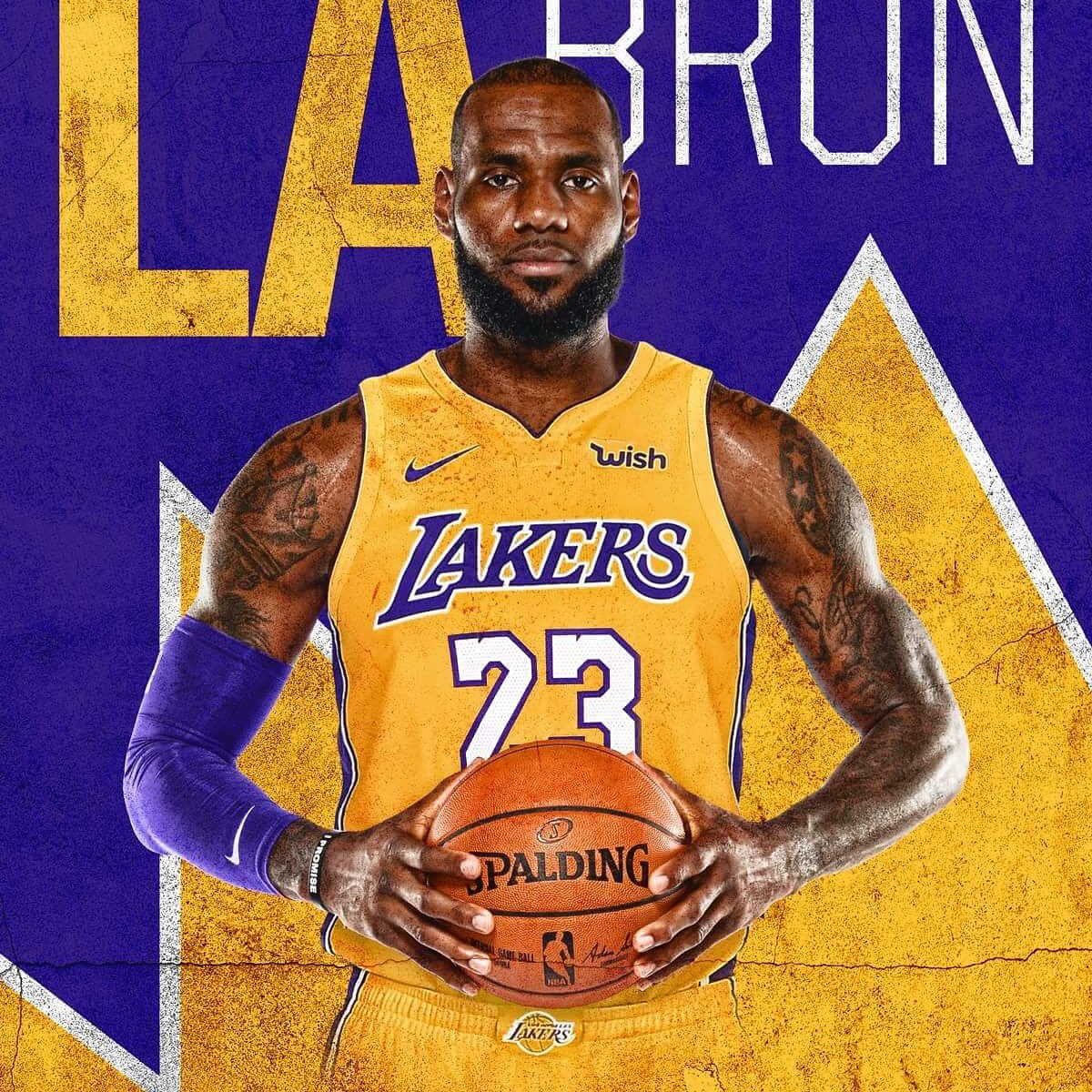 LeBron James y Lakers