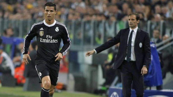 Cristiano Ronaldo y Allegri