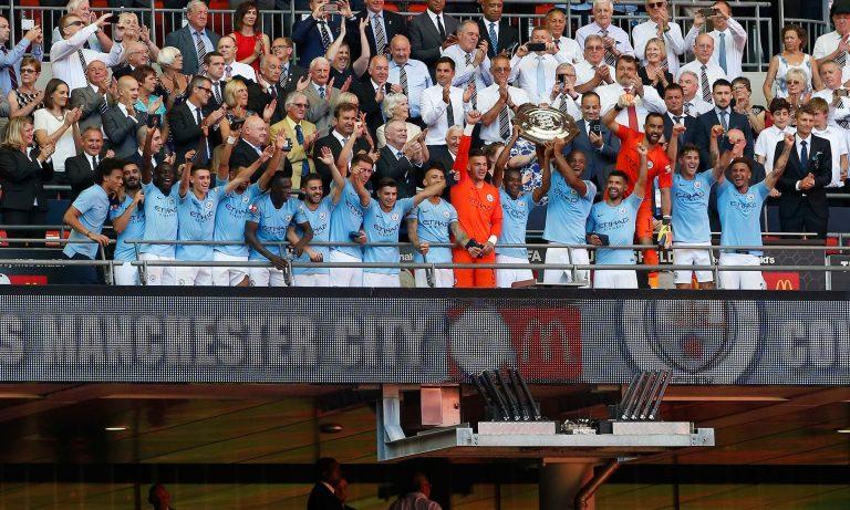 Manchester City campeón Community Shield 2018: