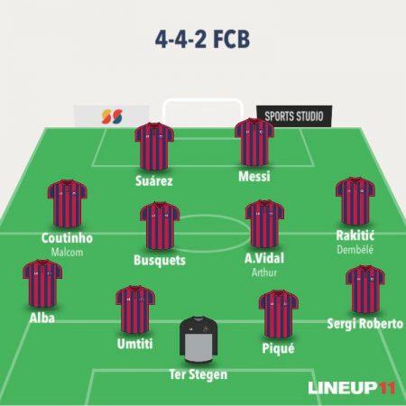 esquema de Valverde: 4-4-2