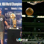 Francisco Elson, un campeón NBA atiende a SportBall