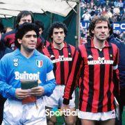 El día que Maradona aniquiló al Milan