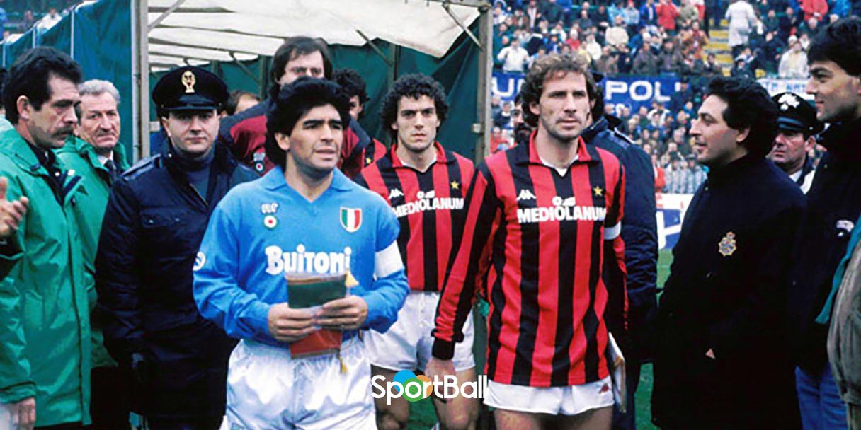 partidos de fútbol históricos Maradona