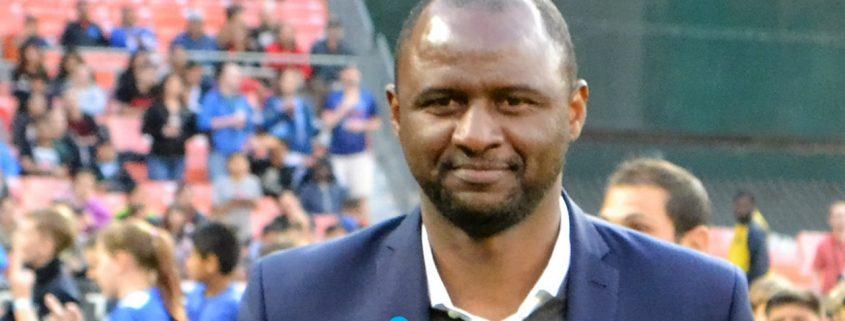 Patrick Vieira entrenador Niza