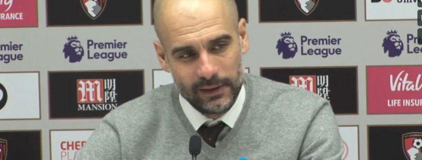 análisis del Manchester City 2018-19 Guardiola