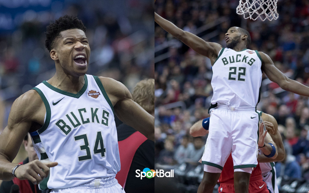 plantilla Milwaukee Bucks 2018-19 Antetokounmpo Middleton