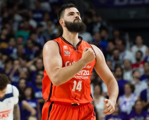 plantilla Valencia Basket 2018-19: Bojan Dubljevic.