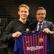 Cómo juega Frenkie de Jong: posición y estadísticas del fichaje del Barcelona