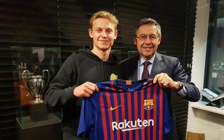 Frenkie De Jong, nuevo jugador del Barcelona.