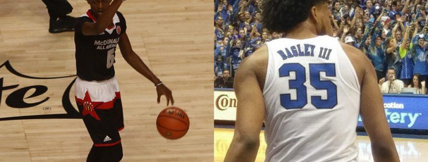 plantilla Sacramento Kings 2018-19: De'Aaron_Fox y Marvin Bagley III