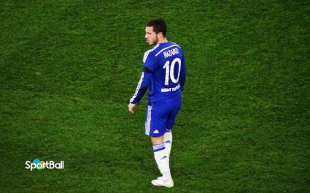 Chelsea de Sarri: Eden Hazard