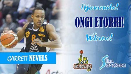 plantilla Gipuzkoa Basket 2018-19: Garrett Nevels