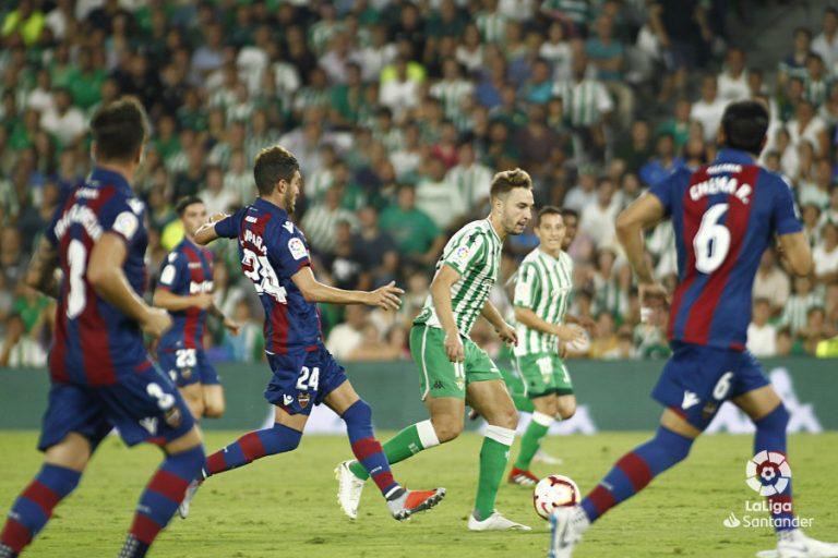 falta de gol en el Betis vs Levante