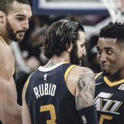 plantilla Utah Jazz 2018-19: Rudy-Gobert-Ricky-Rubio-Donovan-Mitchell