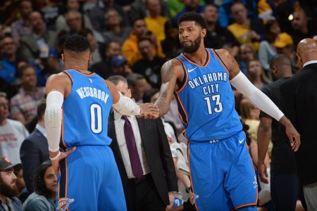 plantilla Oklahoma City Thunder 2018-19: Russell Westbrook y Paul George