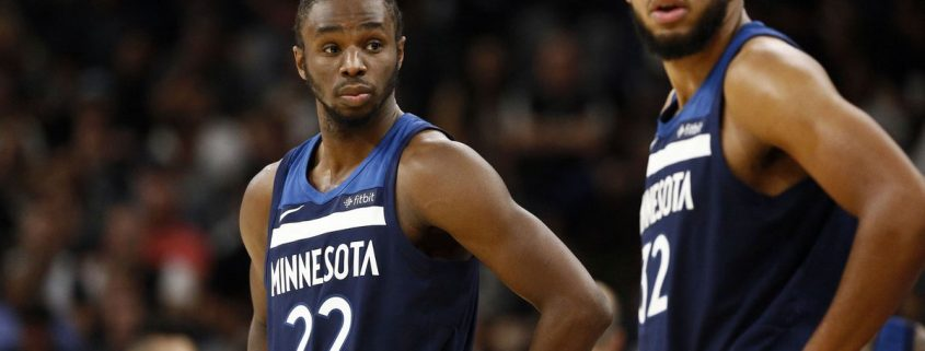 plantilla Minnesota Timberwolves 2018-19: Andrew Wiggins y Karl-Anthony Towns