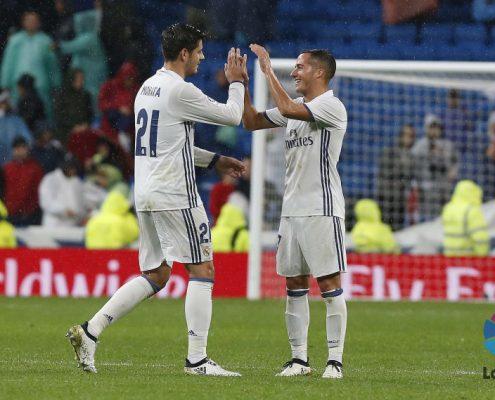 canteranos del Real Madrid: Morata y Lucas Vázquez