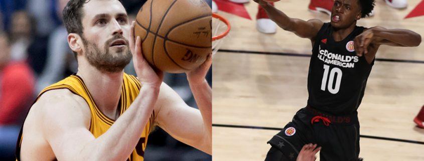 plantilla Cleveland Cavaliers 2018-19 Love y Sexton