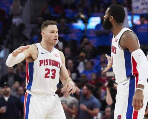 plantilla Detroit Pistons 2018-19: Blake Griffin y Andre Drummond