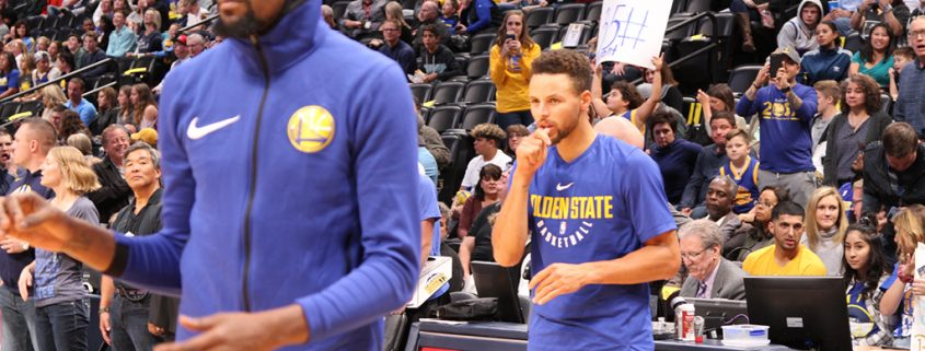 plantilla Golden State Warriors 2018-19: Kevin Durant y Stephen Curry