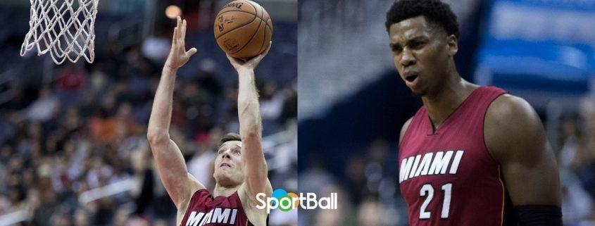 plantilla Miami Heat 2018-19: Goran Dragic y Hassan Whiteside