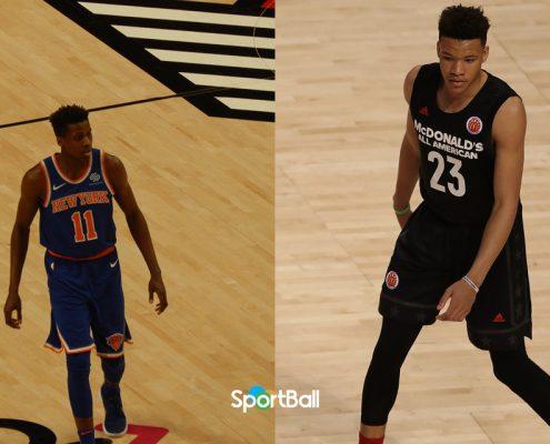plantilla New York Knicks 2018-19: Frank Ntilikina y Kevin Knox