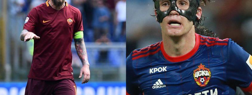 rivales del Madrid en Champions Roma y CSKA