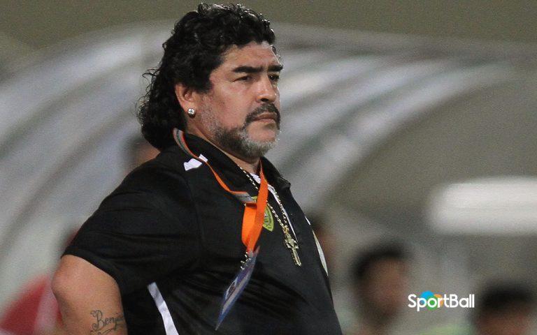 trayectoria como entrenador de Maradona: Al Wasl