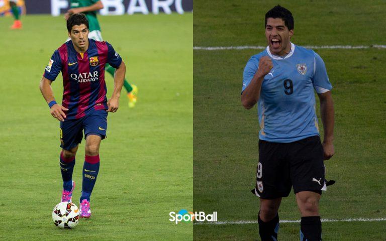 trayectoria de Luis Suárez: Barcelona y Uruguay