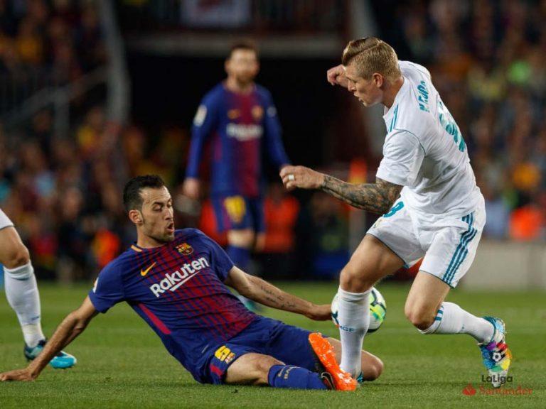 Clásico Barcelona Real Madrid