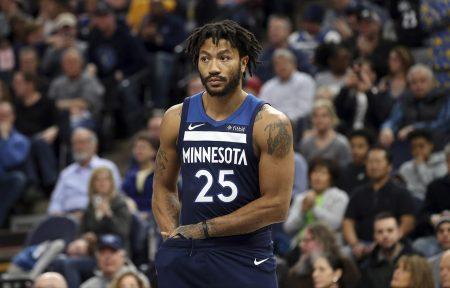 Derrick Rose Minnesota Timberwolves