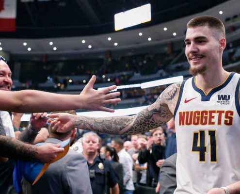 Juancho Hernangomez Denver Nuggets NBA