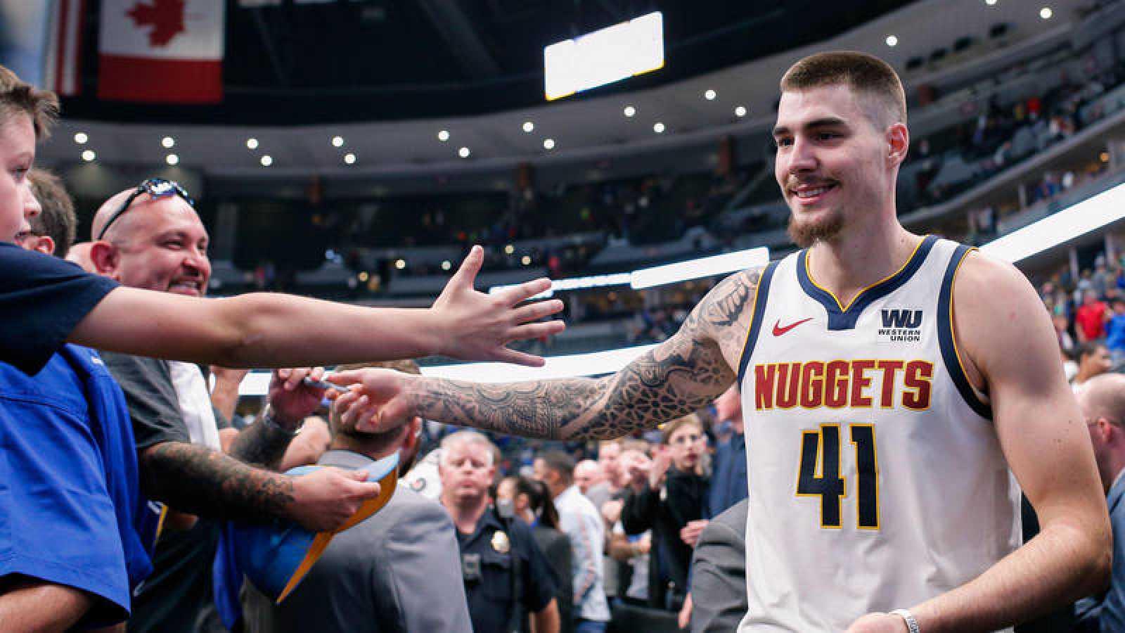 Juancho Hernangomez Denver Nuggets NBA