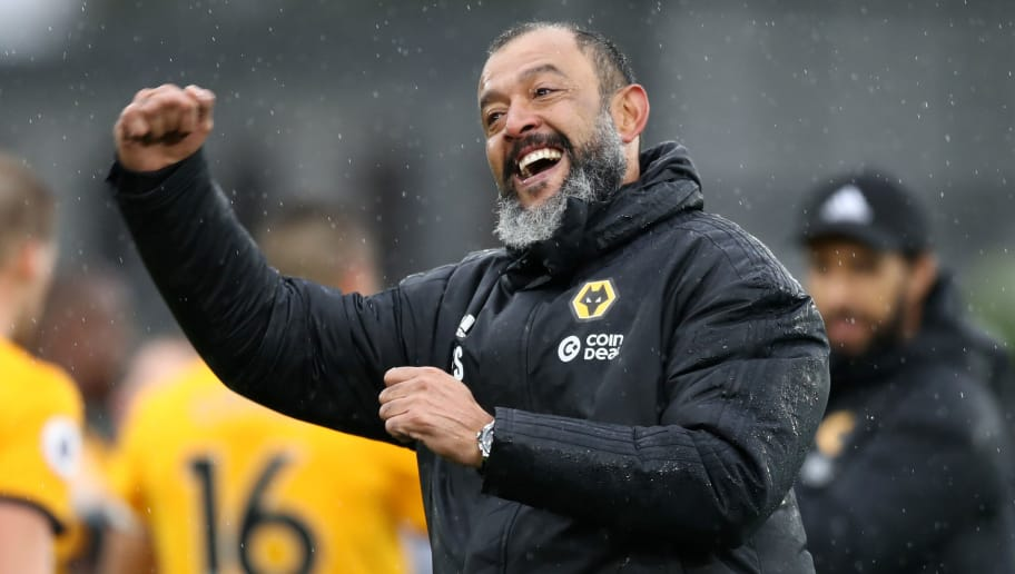 Nuno Espírito Santo, Manager of the Month en la Premier League con el Wolverhampton.