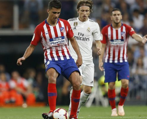 Rodri y Koke Real Madrid vs Atlético de Madrid