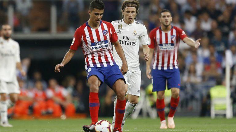 Rodri y Koke Real Madrid vs Atlético de Madrid