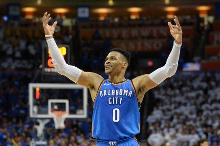 Mejores bases de la NBA: Russell Westbrook