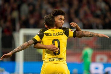 Paco Alcacer y Jadon Sancho lideran el gran inicio del Borussia Dortmund en la Bundesliga 2018-19.