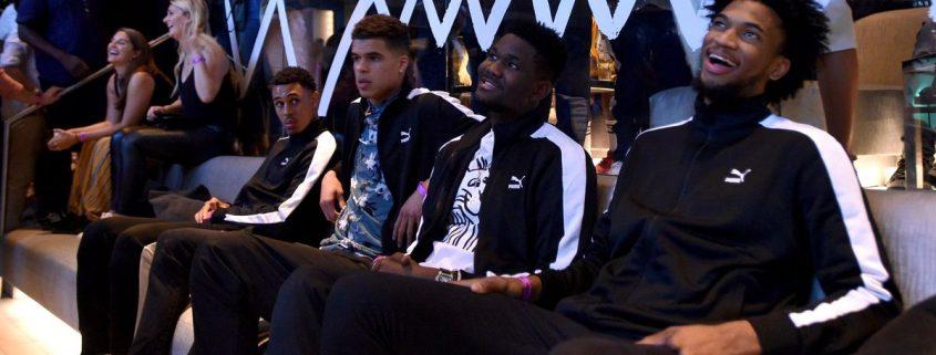 jugadores de la NBA con Puma