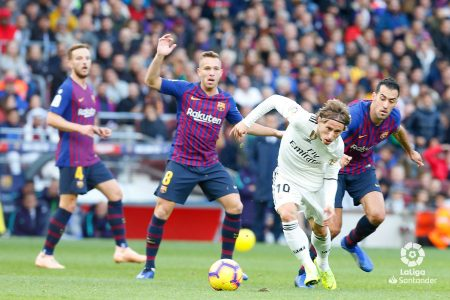 Modric Real Madrid Clásico