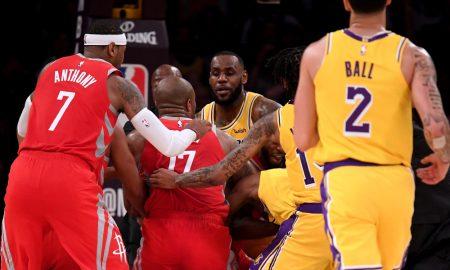 sanciones de la NBA: Lakers y Houston Rockets